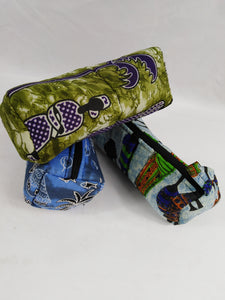 African Authentic Ankara Culture 3 Set Pouch