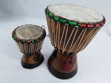 Load image into Gallery viewer, African Djembe Musical Instrument Mini 2 Set