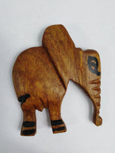 Load image into Gallery viewer, African Brown Elephant Fridge Magnet