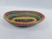 Load image into Gallery viewer, Colorful African Handmade Traditional Table Basket Small