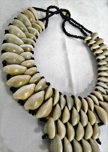 Cowrie Shell Majestic Necklace