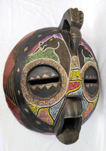 Load image into Gallery viewer, Giant Cyrcle Beaded Colourful Mask