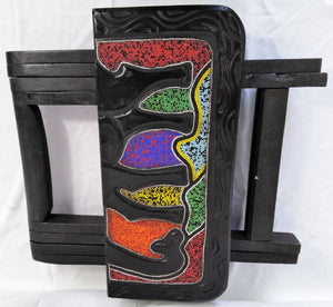 Foldable Ornamented Colourful Beads Table