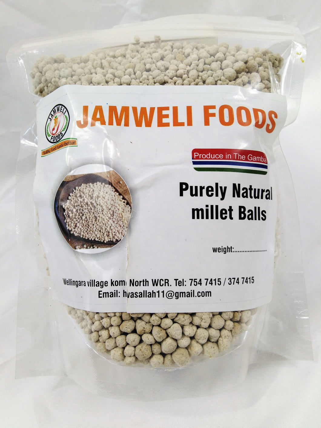 Rolled Millet Balls 300g (M.O.Q. 5 packs)