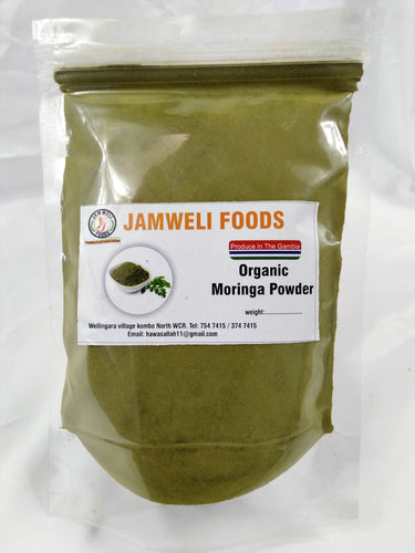 Organic Moringa Powder 200 grams (M.O.Q. 5 packs)