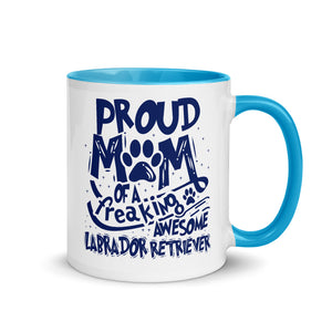 Labrador Retriever Custom Coffee Mug, Perfect Gift for Mom of Lab Lover