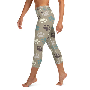 Pawsibly The Best Yoga Capri Leggings