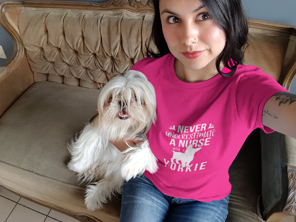 International Year of the Nurse - The Yorkie Unisex T-Shirt