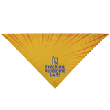 Perfect Bandana for Labrador Retriever, Safety First and Great Fashion too!