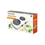 SENCOR ELECTRIC DOUBLE HOTPLATE SCP2253WH