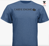 "Carve Engine Short Sleeve ""RIDE"" Tee"