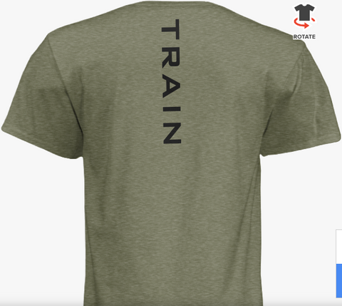 "Carve Engine Short Sleeve ""TRAIN"" Tee"