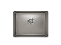 "Load image into Gallery viewer, Prochef Single Bowl Undermont Kitchen Sink ProInox H75 Stainless Steel, 21"" x 16 "" x 8"""
