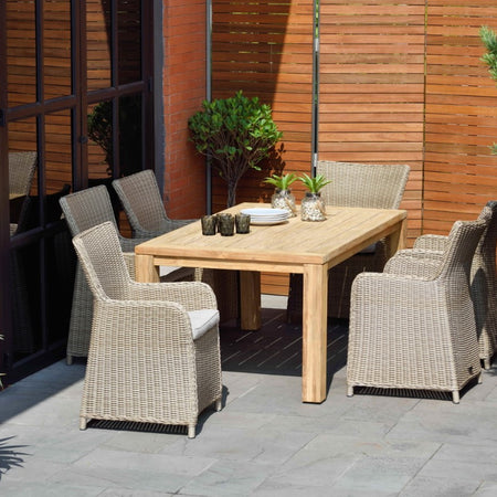 Jambi 6 Seat Recycled Teak Set