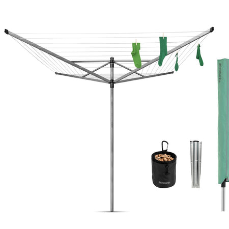 Lift-O-Matic Rotary Clothes Airer 50m (Promo Pack)