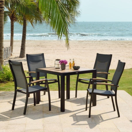 Panama 4 Seat Dining Set