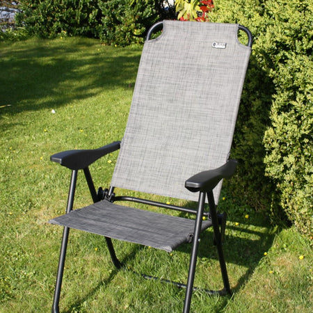 Grey Textaline Recliner Chair