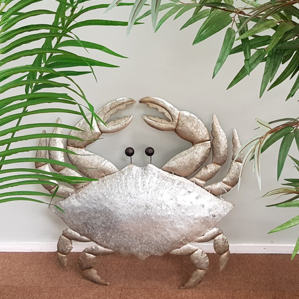 Decorative Metal Crab