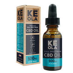 CBD Oil 500mg - Keola Life, LLC
