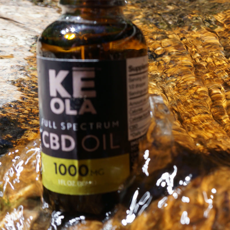 CBD Oil 1000mg - Keola Life, LLC