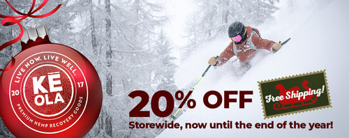 20% Holiday Discount Offer Banner