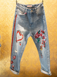 "Jeans ""My heart beats"""