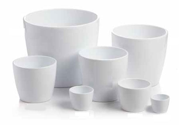 MARLOW WHITE POT (MULTIPLE SIZES)