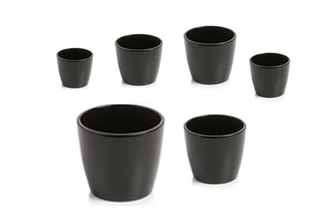 MARLOW POT - BLACK