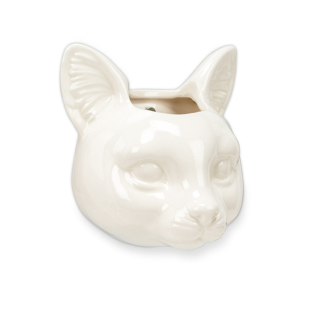 CAT HEAD WALL-MOUNTED POT