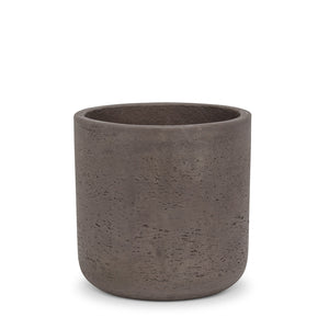QUARRY BROWN CEMENT POT