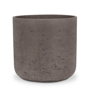BROWN CEMENT POT
