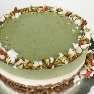 Matcha Green Tea Cheezcake