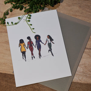 GIRLS PARTY CARD