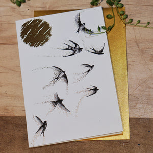 SWALLOW CARD