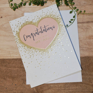 TO MR & MRS CARD