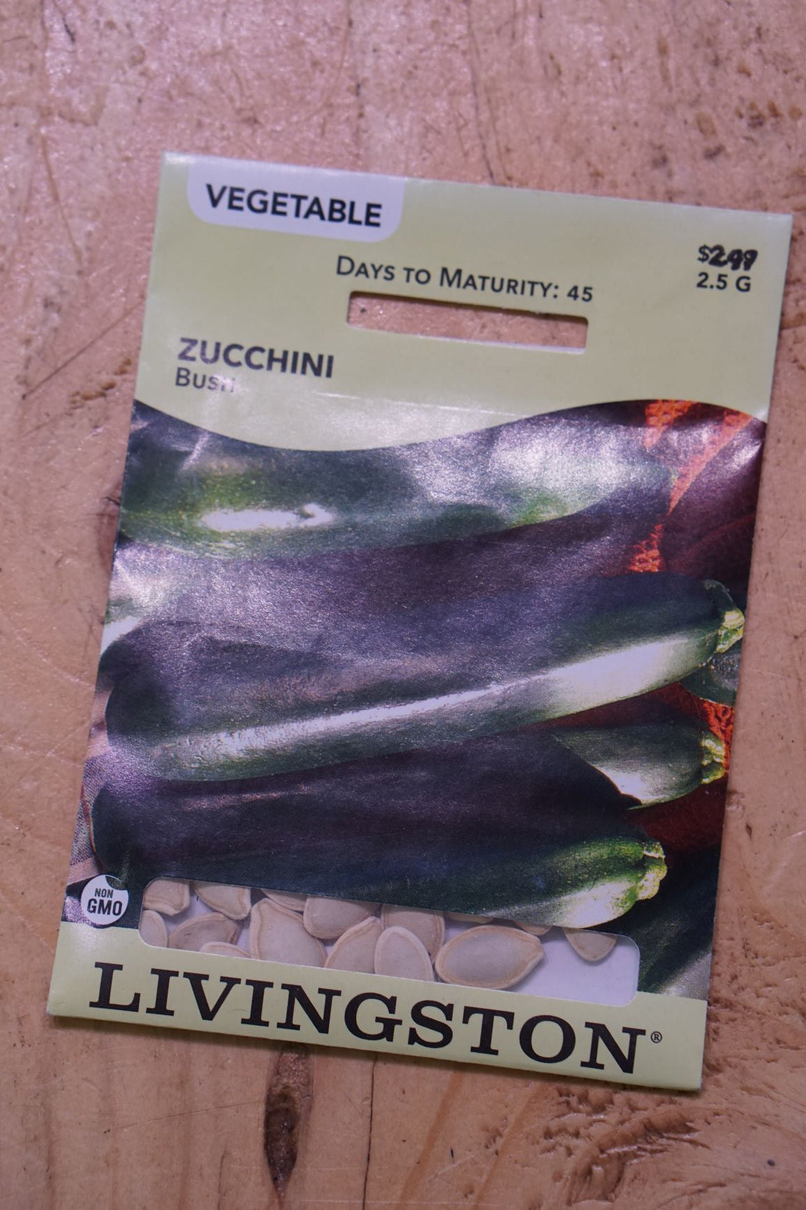 Assorted Vegetable Seeds