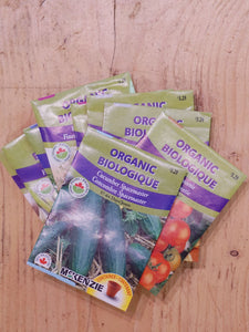 Assorted Organic Seeds