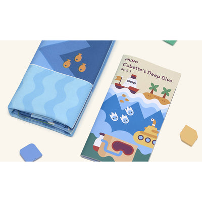 MATERIALES EDUCATIVOS STEM CUBETTO OCEAN MAP