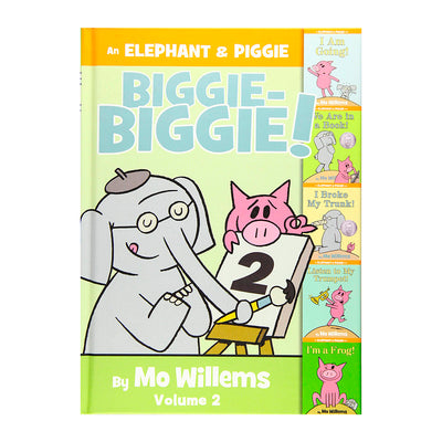 LIBRO ELEPHANT AND PIGGIE: BIGGIE! Vol 2