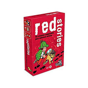 JUEGO DE MESA BLACK STORIES JUNIOR RED STORIES