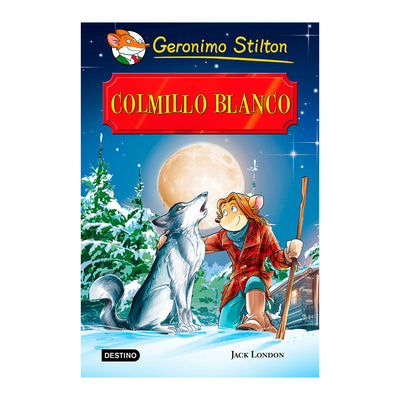 LIBRO GERONIMO STILTON COLMILLO BLANCO
