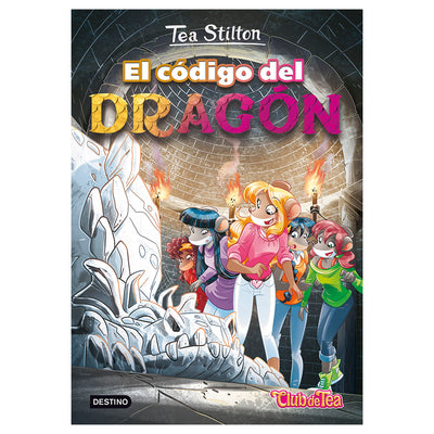 LIBRO TEA STILTON EL CODIGO DEL DRAGON