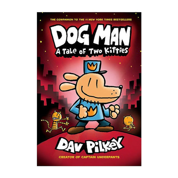 LIBRO DOG MAN A TALE OF TWO KITTIES  (VOL. 3)