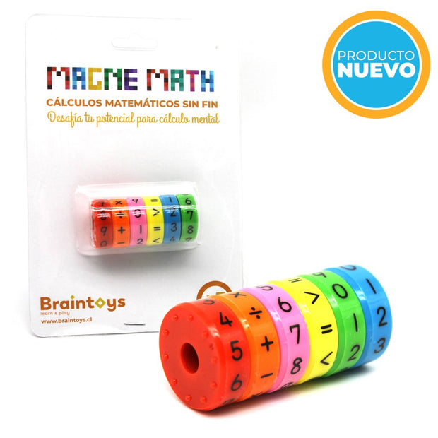 JUGUETE EDUCATIVO MAGNE MATH BRAIN TOYS