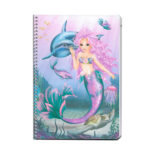 LIBRO TOP MODEL FANTASY MODEL MERMAID SIRENA