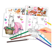 LIBRO PARA PINTAR MISS MELODY CREATE YOUR BABY PONY