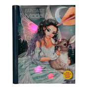 LIBRO TOP MODEL ICE PRINCESS CON MUSICA Y LUCES PARA PINTAR