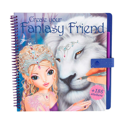 LIBRO TOP MODEL CREATE YOUR FANTASY FRIEND- LEON