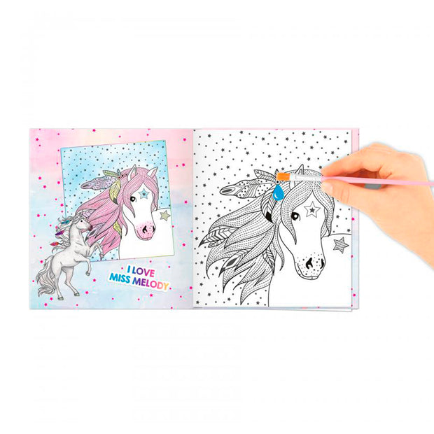 LIBRO PARA PINTAR MISS MELODY WATER COLOUR BOOK