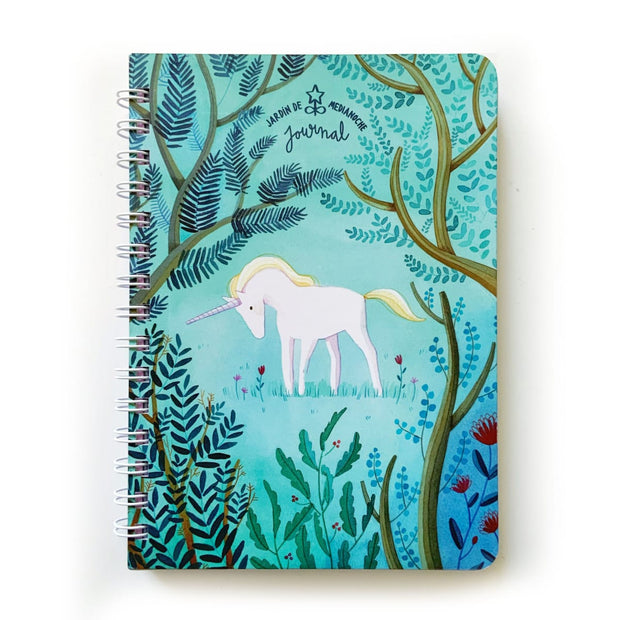 JOURNAL JARDIN DE MEDIANOCHE UNICORNIO